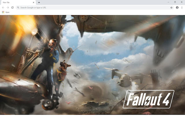 Fallout 4 Wallpapers and New Tab