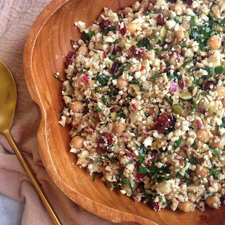 Cauliflower Salad With Cranberries Recipes.