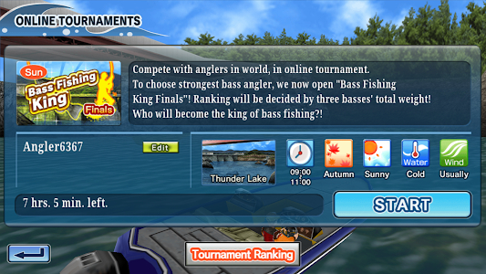 Bass Fishing 3D Free v2.2.1