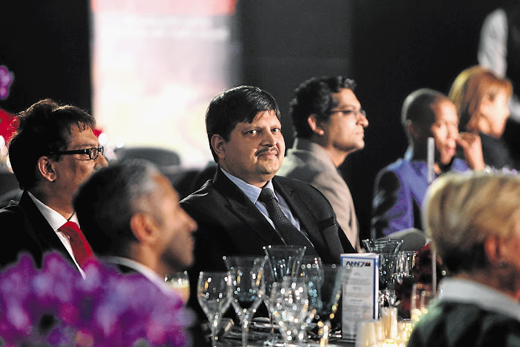 Business tycoon Atul Gupta, one of the owners of Africa News Network 7.
