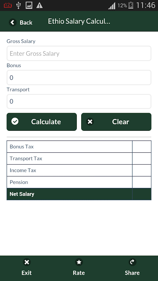 Ethiopian IncomeTax Calculator Android Apps on Google Play – Income Tax Calculator