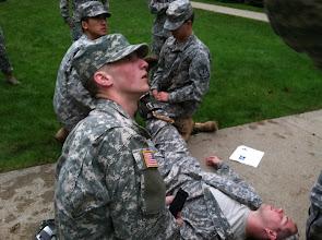 Photo: First aid training