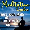 Meditation Quotes: Be Relax and Calm icon