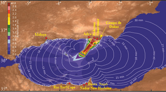 Un estudio del CSIC alerta de la amenaza de tsunamis en el litoral almeriense
