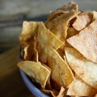 Homemade Cool Ranch Doritos