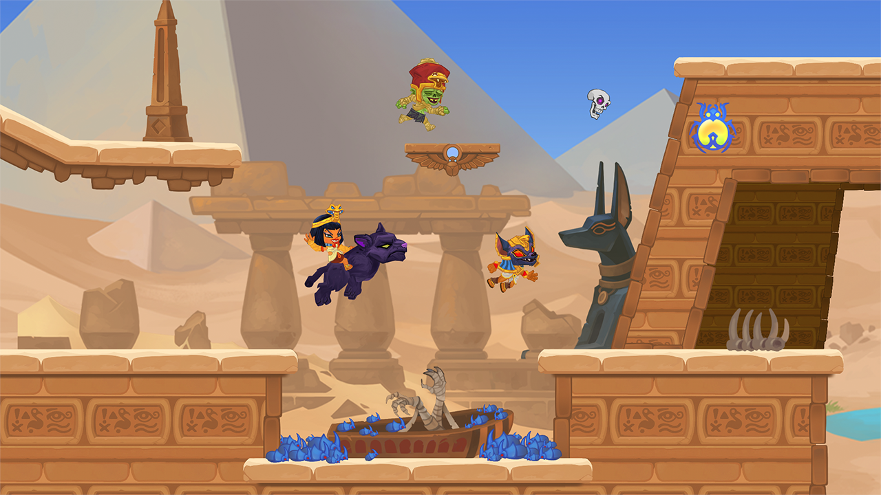 Dash Legends Multiplayer Race- screenshot