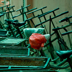 Beijing Ally by Gary Grulich - City,  Street & Park  Street Scenes