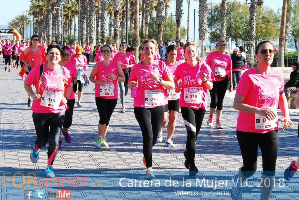 Fotos Carrera de la Mujer Valencia 2018