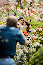 """Photo: This photo appeared in an article on my blog on Apr 19, 2013. この写真は4月19日ブログの記事に載りました。 """"Photo Shoot at Kyoto's Haradanien Garden: John and Ai"""" http://regex.info/blog/2013-04-19/2246"""