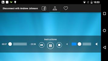 Screenshot of Disconnect
