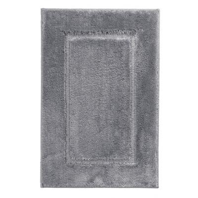 Коврик для ванной комнаты Ridder Stadion серый 85х55 см