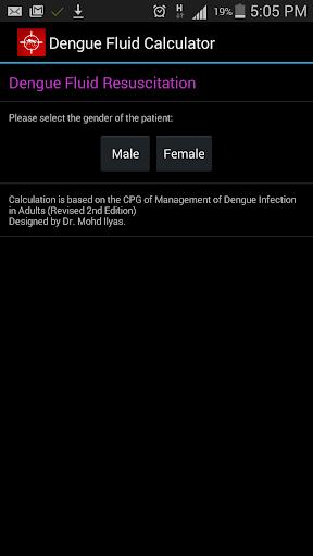 Dengue Fluid Replacement