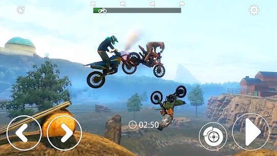 Mountain Moto- Trial Xtreme Racing MOD (Unlimited Gold Coins) 3