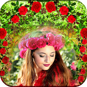 Garden Picture Frames: Nature Photo Editor Icon