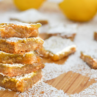Nutty Lemon Bars.