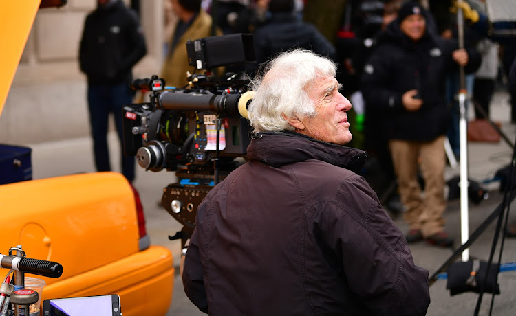 Cinematographer Roger Deakins on location for 'Goldfinch'.