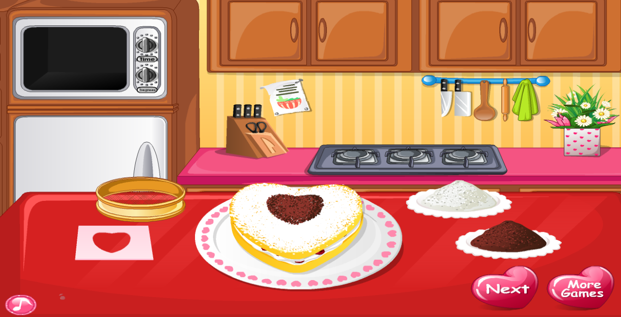 Christmas Cake Cooking Games Online