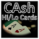 CAsh - High Low Playing Cards (game)