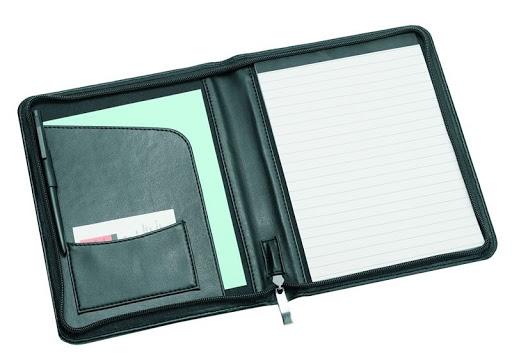 A5 Zipround Folder In Sorrento P.U