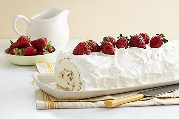 Heavenly Strawberry Roll Recipe