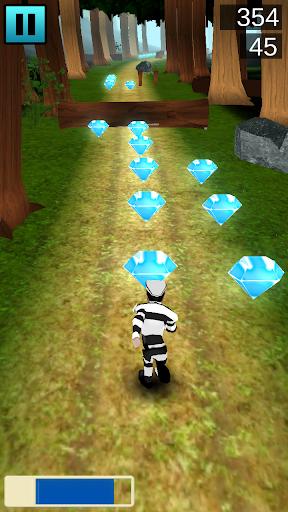 Crime Esacpe Runner 3D