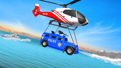 Grand Police Transport Truck screenshot 13