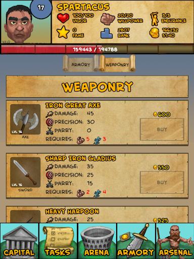 Gladiator: Rise Of Legends 2.13 screenshots 9