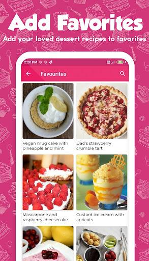 Dessert Recipes 38.0.0 screenshots 4