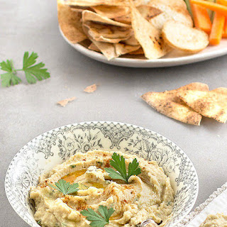 Artichoke and White Bean Dip.