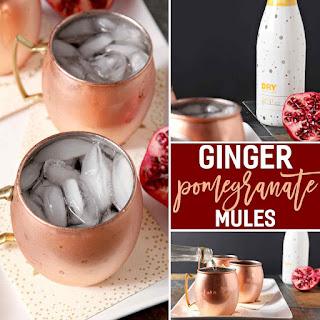 Ginger Pomegranate Mule.