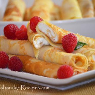 Blintzes – Nalisniki-Blinchiki with Creamy Filling