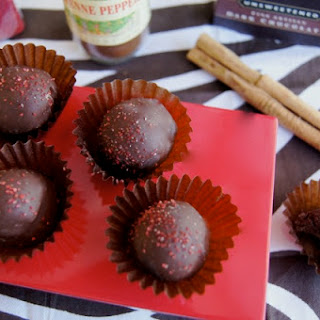 Spicy Mayan Chocolate Truffles.