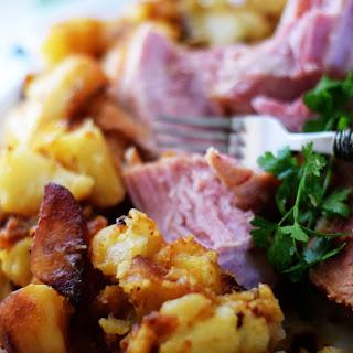 Rustic Ham and Potatoes.
