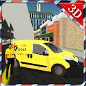 Postman Delivery Van Simulator icon