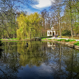 paviljon jeke by Dunja Kolar - City,  Street & Park  City Parks ( maksimir, croatia, paviljon jeke, zagreb )
