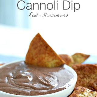 Mexican Chocolate Cannoli Dip