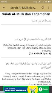 Surah Al-Mulk dan Terjemahan - náhled