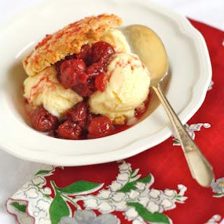 Tart Cherry Sauce for Ice Cream