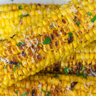 Grilled Parmesan Corn on the Cob Recipe