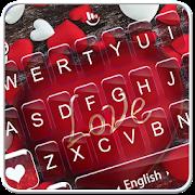 App Red Heart Love Sweet Valentine Keyboard Theme APK for Windows Phone