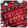 Love Red Heart Sweet Valentine Keyboard Theme