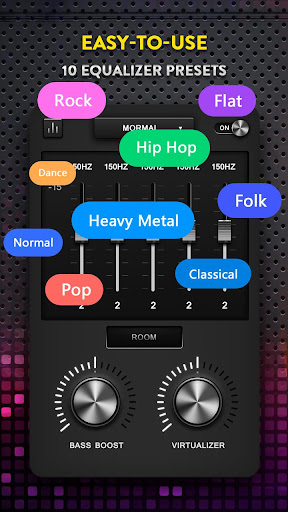 Bass Booster, Volume Booster - Music Equalizerud83cudf9aufe0f 2.3.8 Screenshots 3