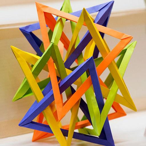 Origami violin by Gen Hagiwara - YouTube | 512x512