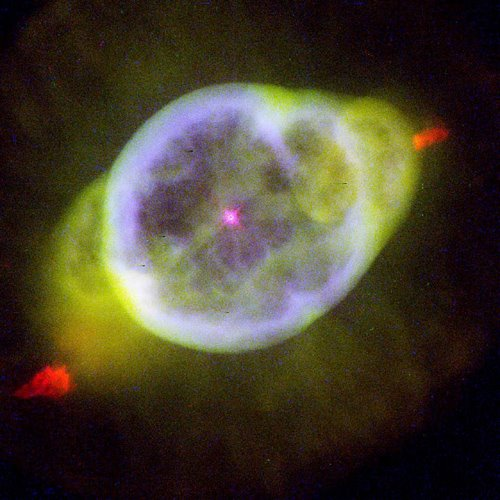 "Photo: Planetariska nebulosan NGC 3242 (""Ghost of Jupiter"").  HST/NASA/ESA"