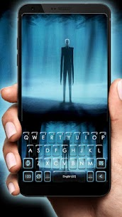 Slender Evil Man Keyboard Theme 1.0 Latest MOD APK 1