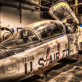 T-38 by Joe Palisi - Transportation Airplanes