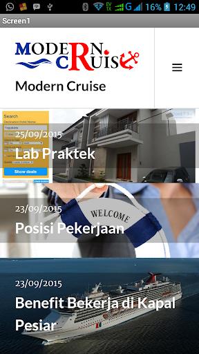 Modern Cruise