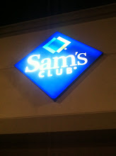 Photo: An evening at Sam's Club ~ I love these nights.