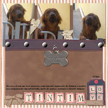 Photo: My Puppy Chow by Christine Honsinger Font Forte PS CS5