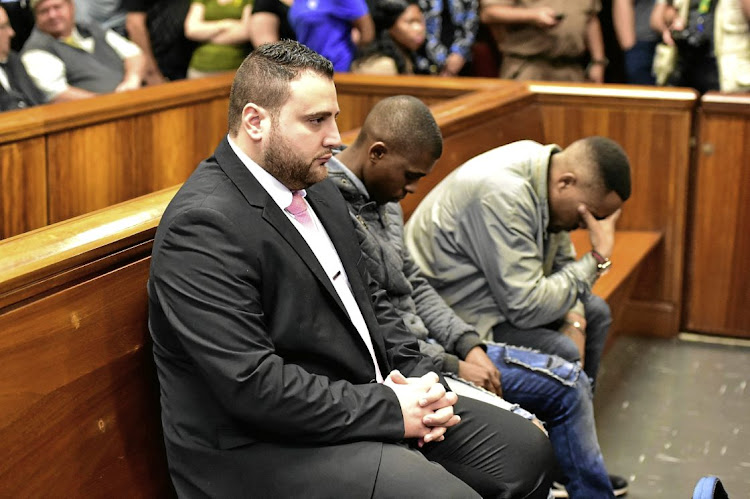 Port Elizabeth businessman Christopher Panayiotou was found guilty of the murder of his wife, Jayde. His accomplice Sinethemba Nemembe was found guilty of murder and robbery aggravating, while Zolani Sibeko was found guilty of conspiracy to murder.